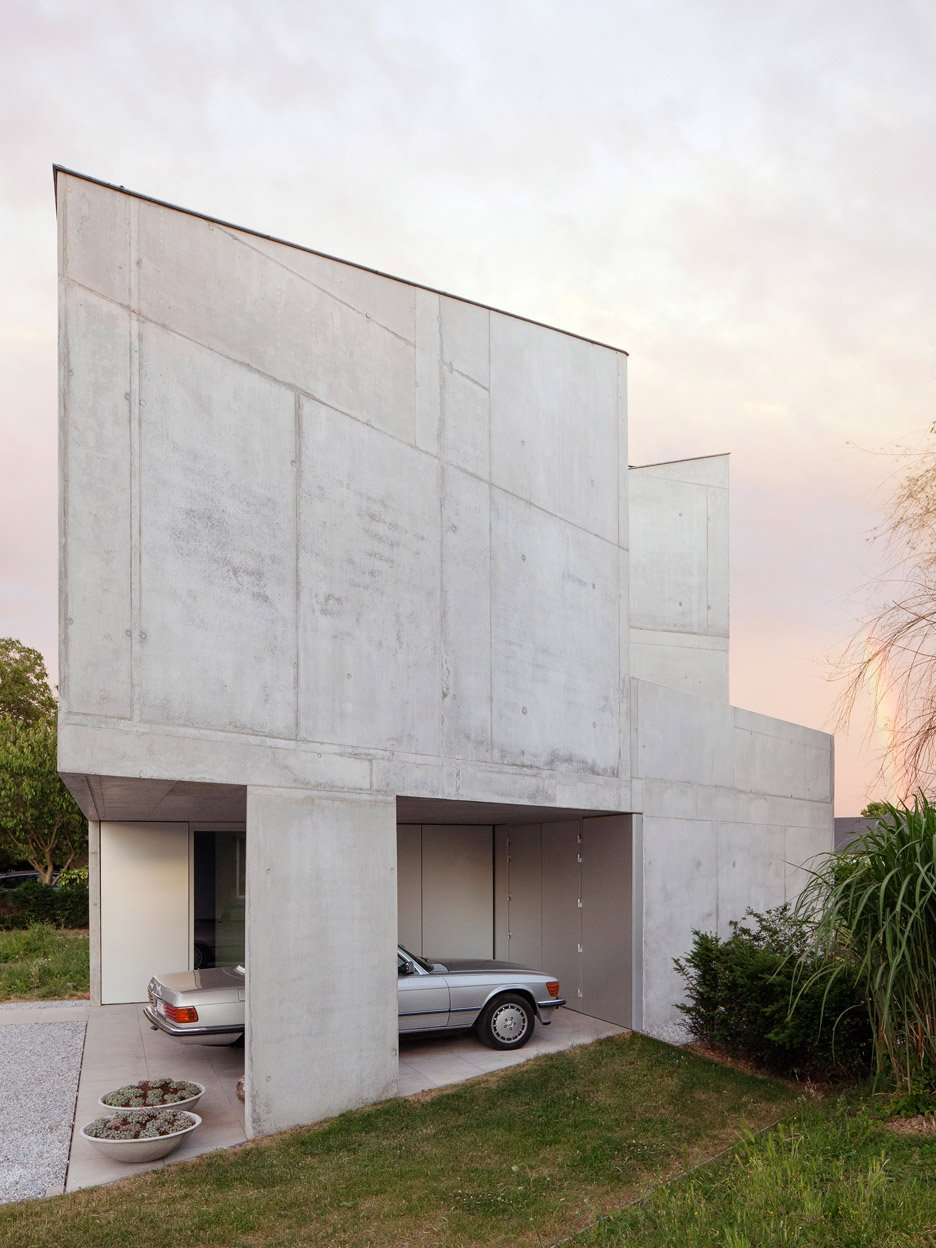 tdh house by ism architecten - Concrete House