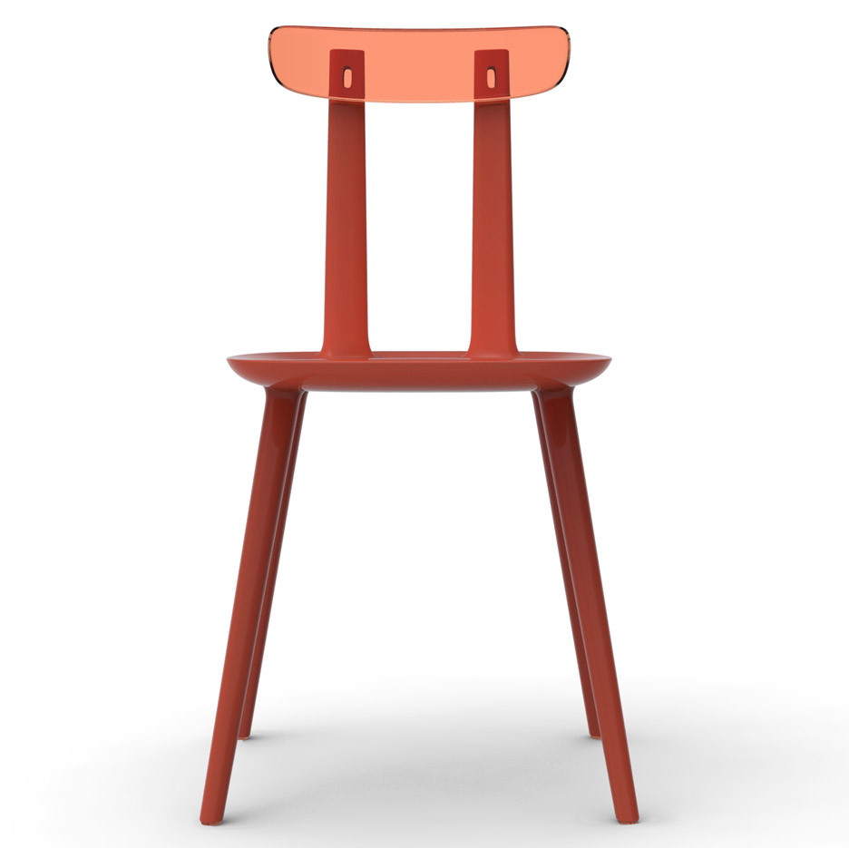 Wooden chairs for Alias by Eugeni Quitllet