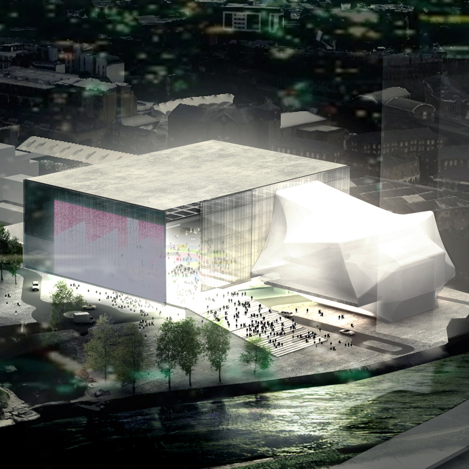 Beautiful OMA Wins Competition To Design Huge Manchester Arts Venue The Factory