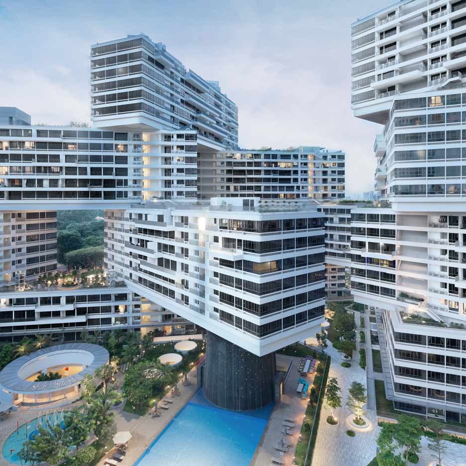 "Ole Scheeren's ""vertical village"" named World Building of the Year 2015"