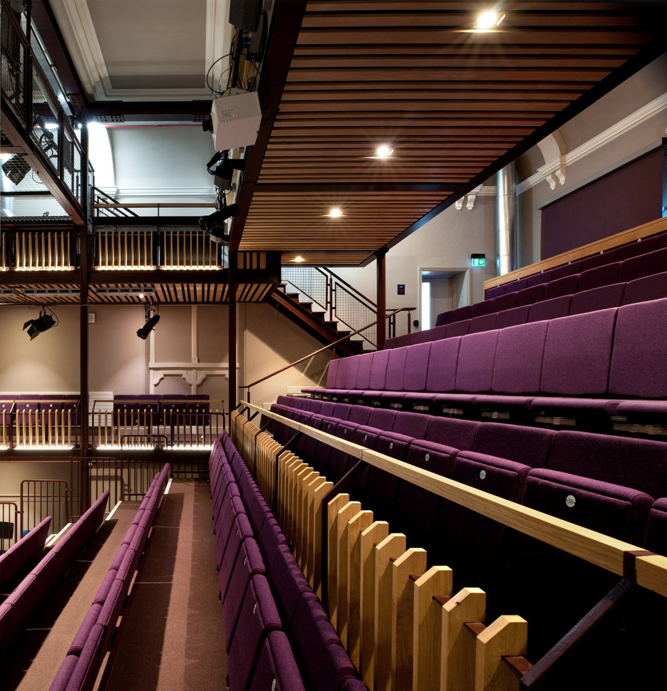 The Quarry Theatre in Bedford by Foster Wilson Architects