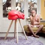 Bastiaan Buijs' Satyr sex toy for men is a fleshlight-cum-furniture piece