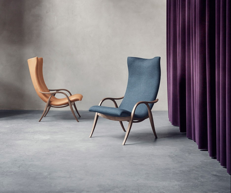 Frits Henningsen's Signature Chair re-released by Carl Hansen & Søn