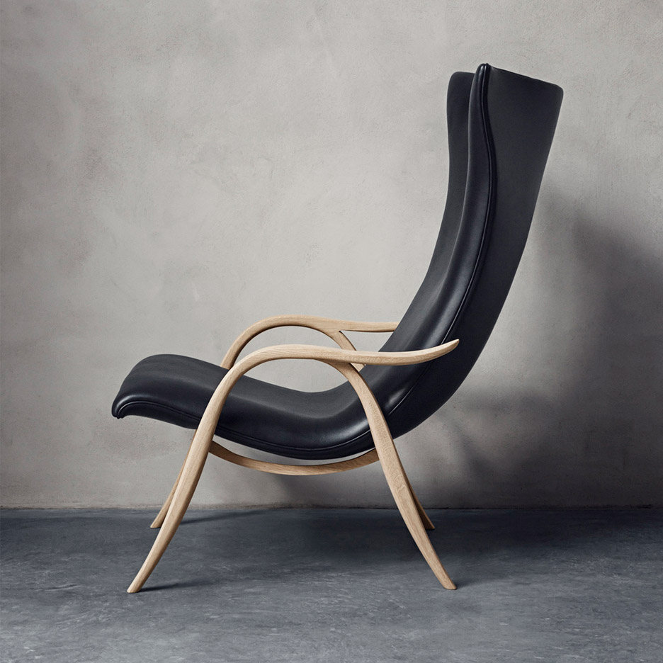 Frits Henningsen's Signature Chair rereleased by Carl Hansen & Søn