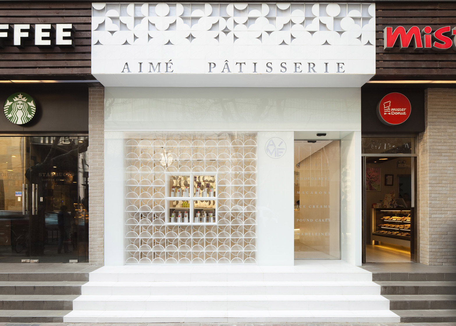 The White Gift Box Aime Patisserie by Lukstudio