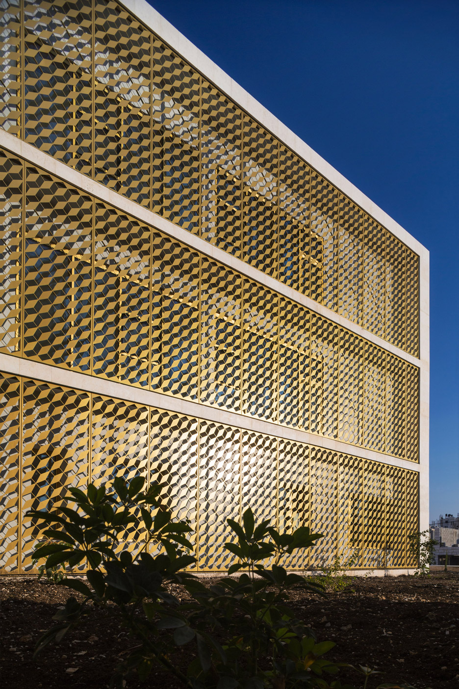 Toulkarem Courthouse by AAU Anastas