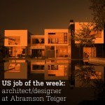 US job of the week: architect/designer at Abramson Teiger