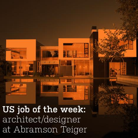 Dezeen Jobs job of the week