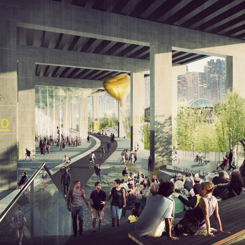 Plans unveiled for Toronto park that will stretch under a highway
