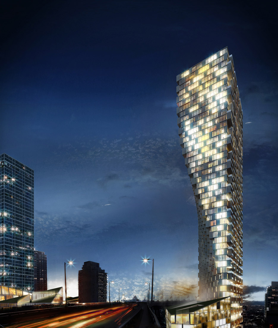 Vancouver Tower by BIG