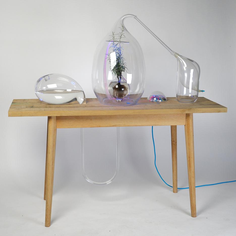 Sarah Daher designs Air Culture concept plant lab to deliver enriched air