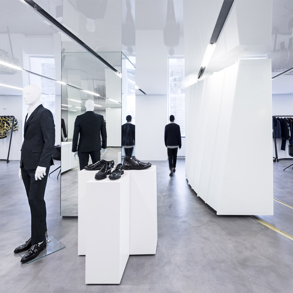 SO-IL creates flexible light-filled showroom for Versace's New York headquarters