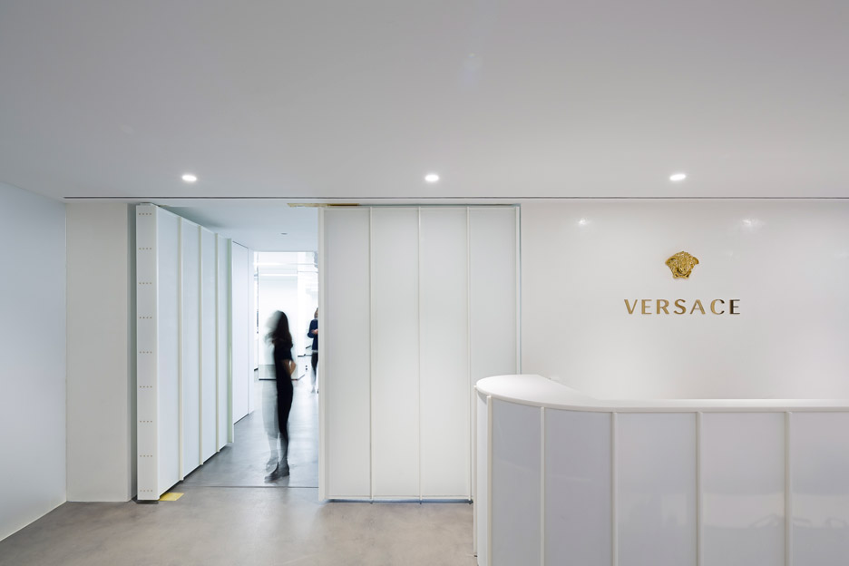 Versace New York showroom by SO-IL