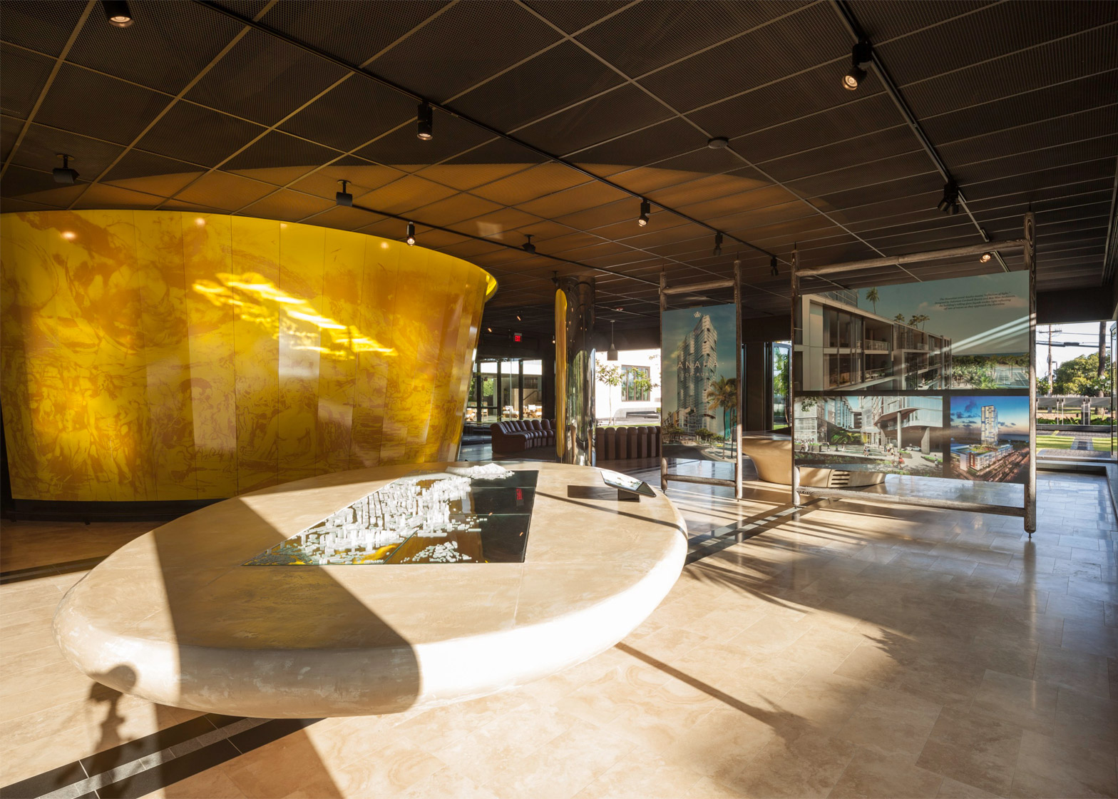 Ward Village Information Center and Sales Gallery, Honolulu, USA, by Woods Bagot