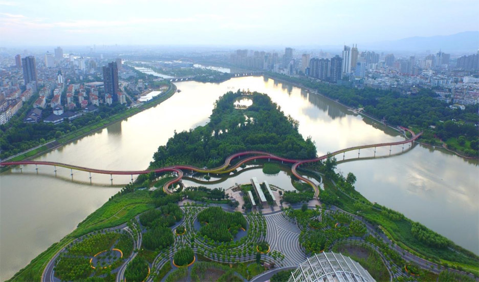 Yanweizhou Park by Turenscape