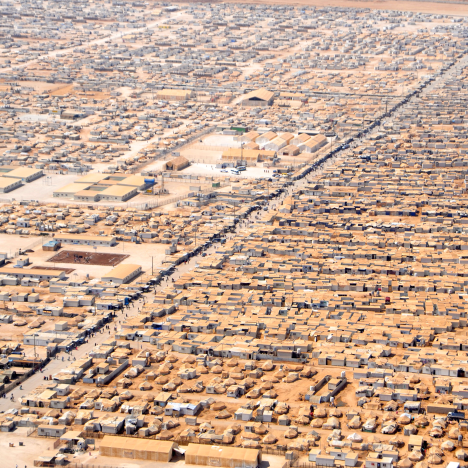Refugee camps are the &quotcities of tomorrow&quot, says humanitarian-aid expert