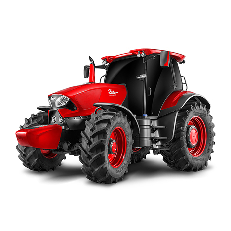 Pininfarina tractor for Zetor