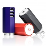 Zolt charger by Yves Behar powers three devices at once