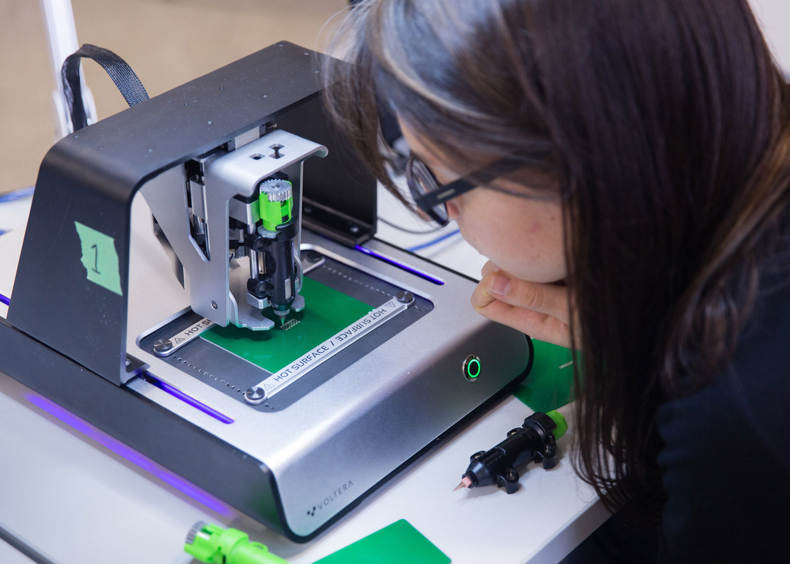 Voltera V One Circuit Board Printer Wins 2015 Dyson Award Custom Boards Laptop Sized