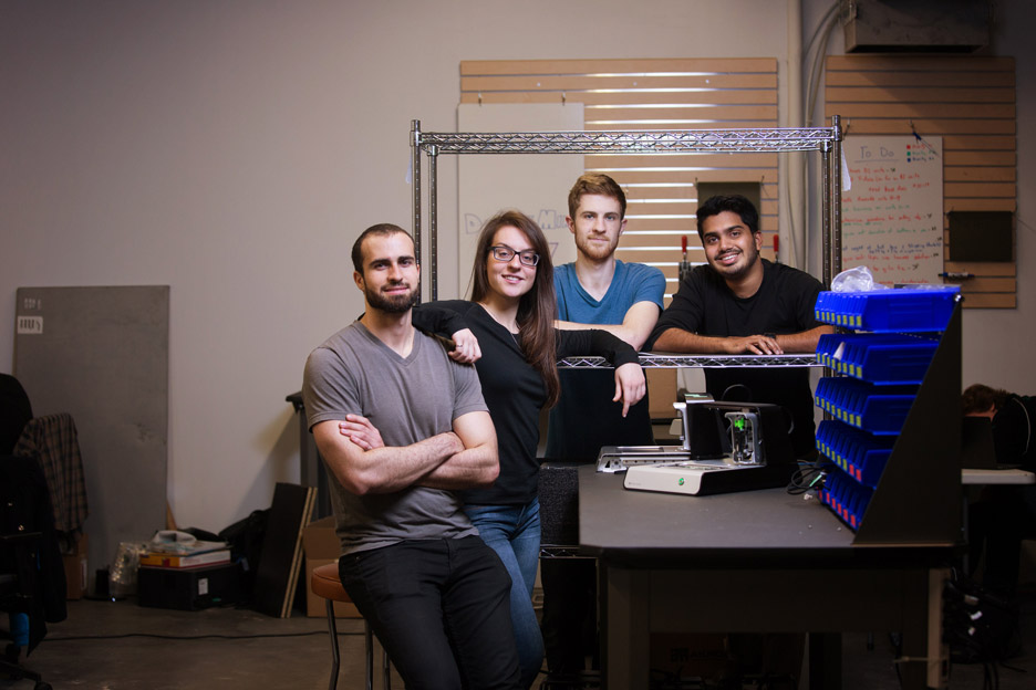 Laptop-sized Voltera V-One circuit board printer wins 2015 Dyson Award