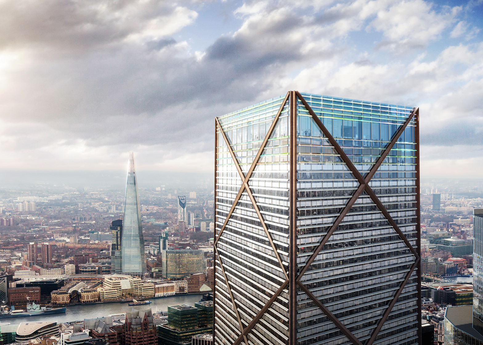 1 Undershaft skyscraper by Eric Parry Architects