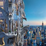 Mark Foster Gage proposes elaborate gargoyle-covered skyscraper for New York