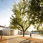 Atelier Rua screens Portuguese campsite facilities with white slatted facade