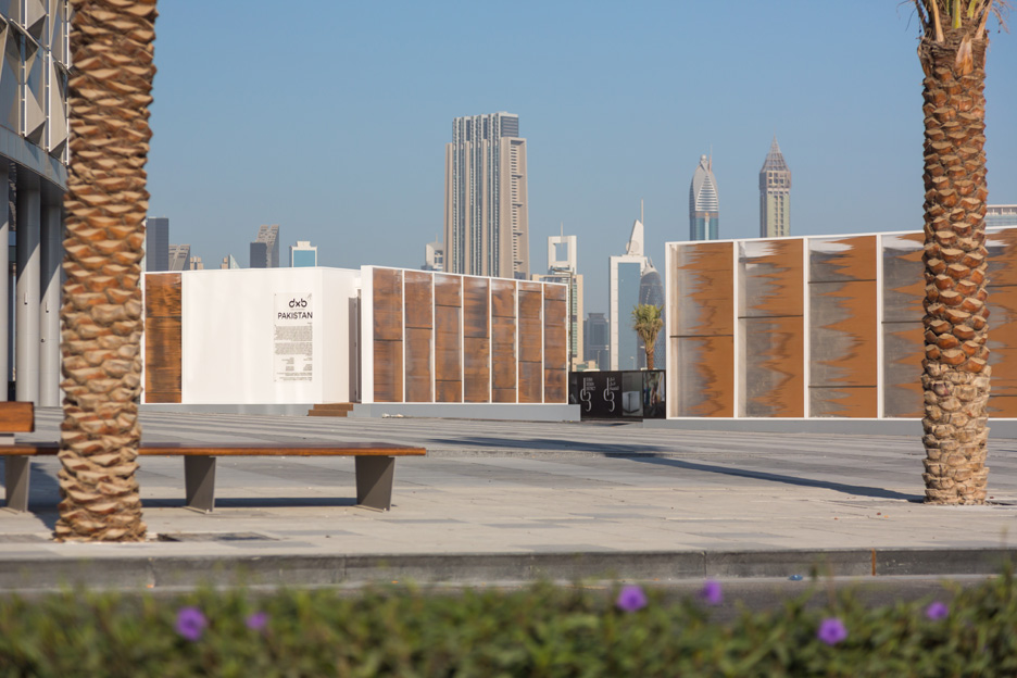 Abwab pavilions at Dubai Design Week 2015