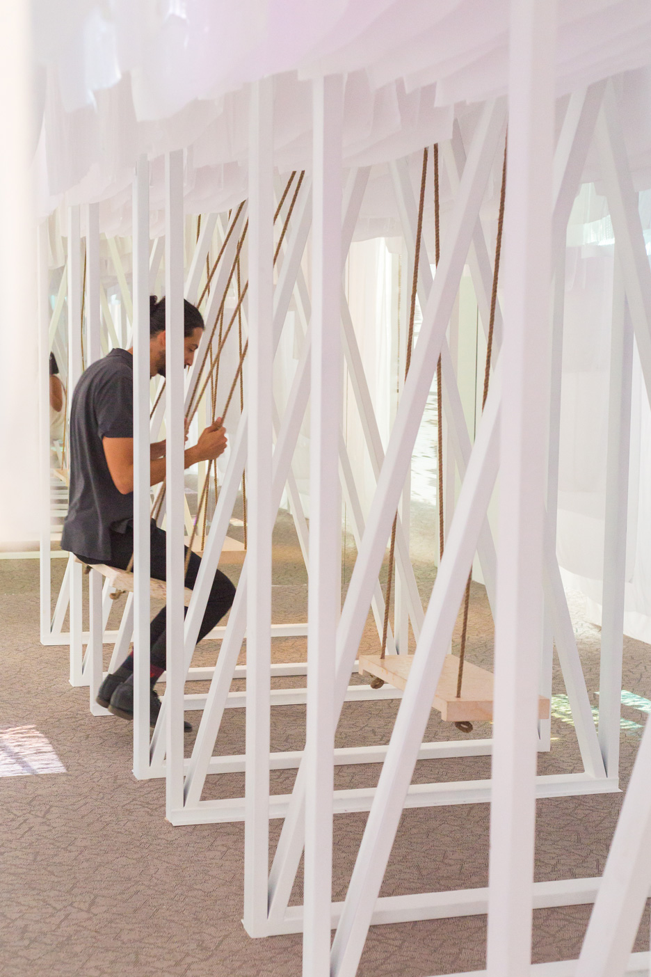 Jordan Abwab pavilion at Dubai Design Week 2015