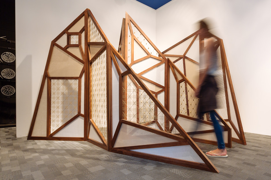 United Arab Emirates Abwab pavilion at Dubai Design Week 2015