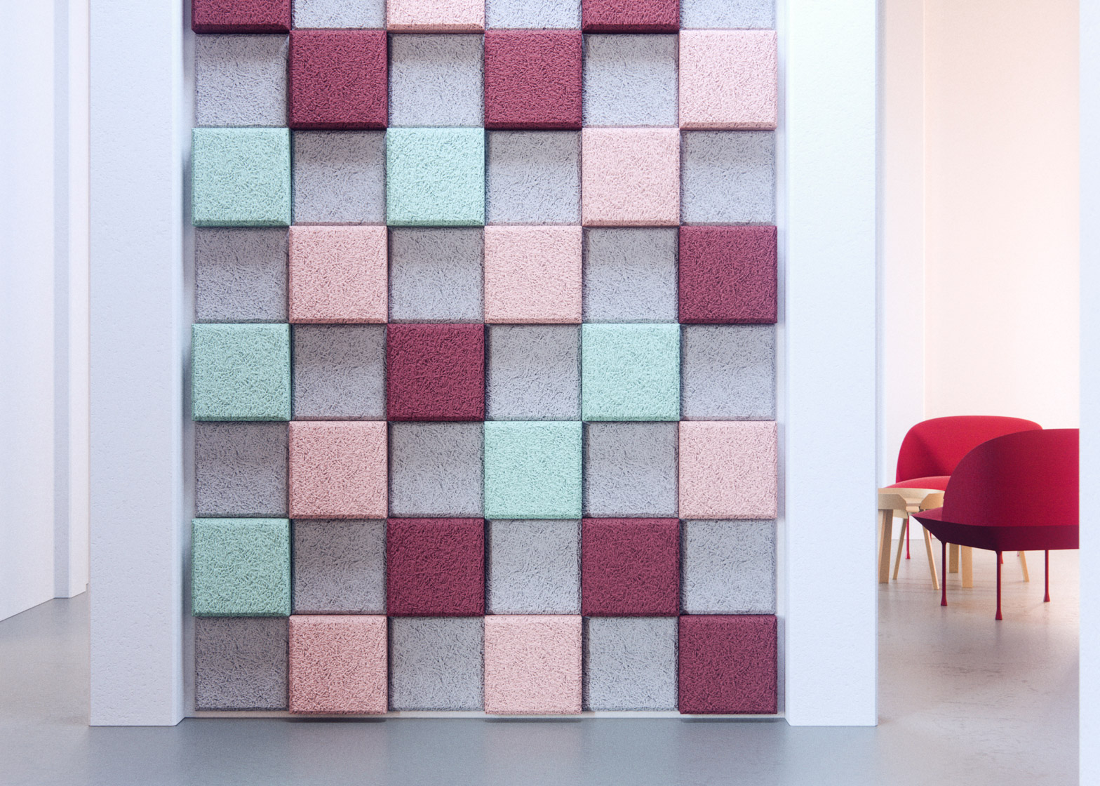 Acoustic Tiles by Form Us With Love