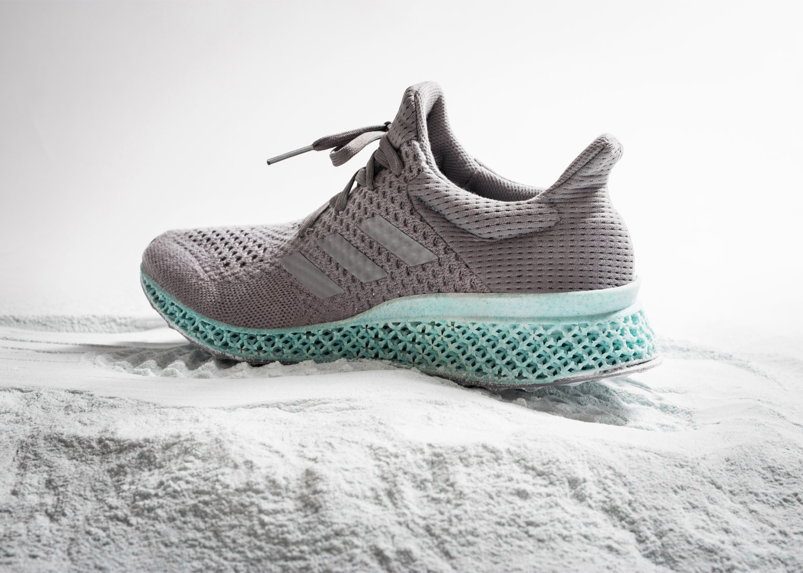quality design 60402 210a9 Adidas combines ocean plastic and 3D printing for eco-friendly trainers