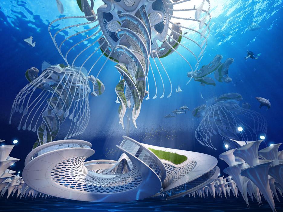 Aequorea Oceanscraper by Vincent Callebaut