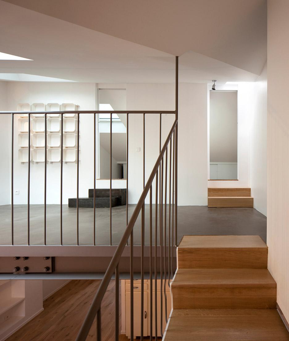 Cairos architecture paris apartment porte de vincennes mezzanine