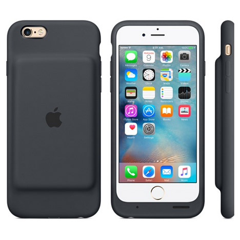 Apple extends iPhone 6 battery life with slip-on rechargeable case