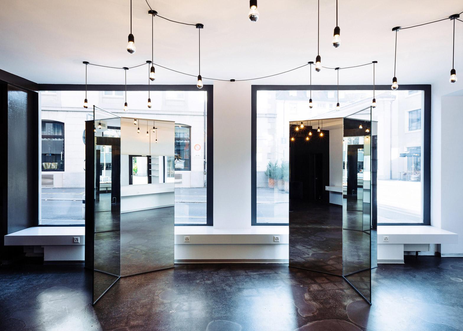 Barbershop Seefeldstrasse by Wülser Bechtel Architekten