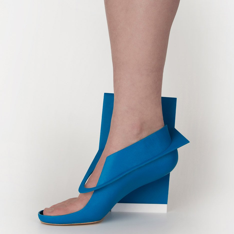 Marloes ten Bhömer's Bluepanelshoe
