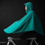 Vanmoof's Boncho rain mac covers both bike and rider to encourage wet-weather city cycling