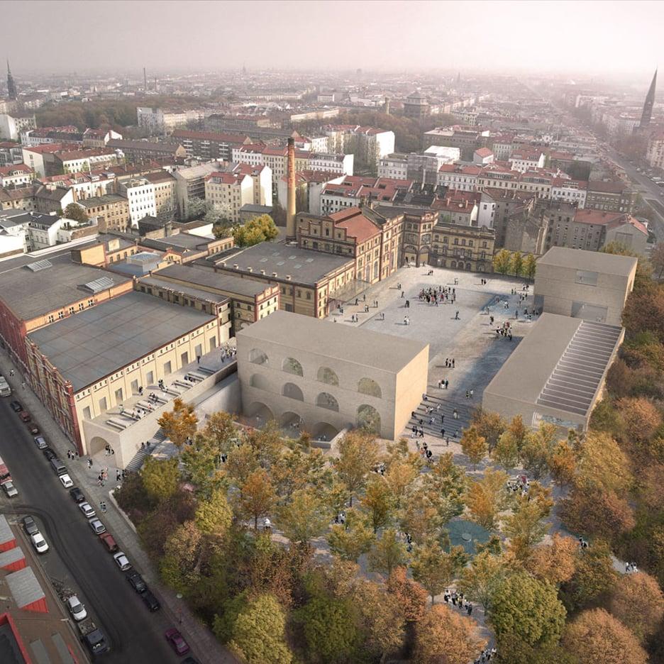 Bötzow Brewery, Berlin by David Chipperfield