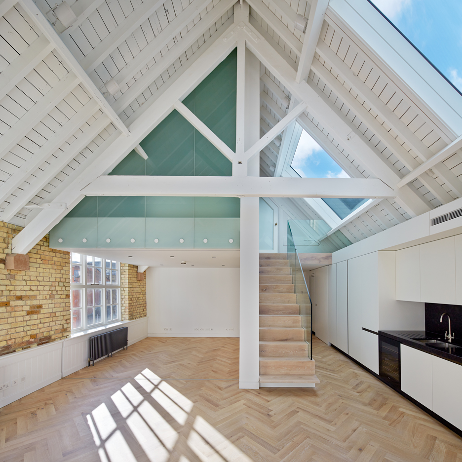 Emrys Architects creates six homes in converted Covent Garden warehouses