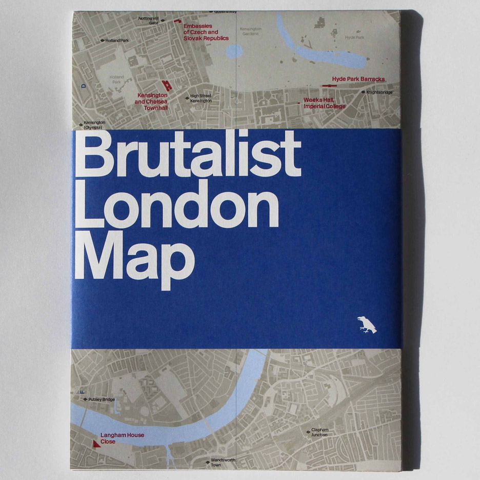 Competition: five Brutalist London Maps to be won