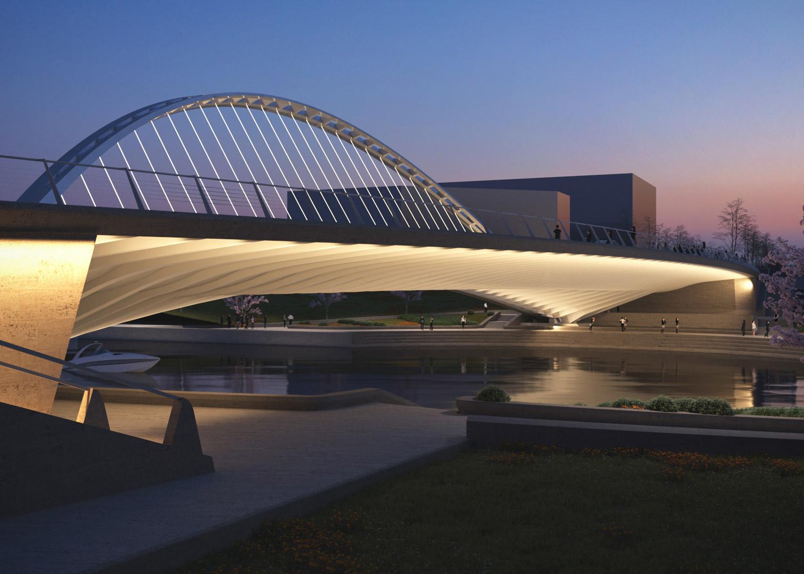 Calatrava Huashan bridges in China