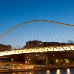 Dezeen's A-Zdvent calendar: Campo Volantin Footbridge by Santiago Calatrava