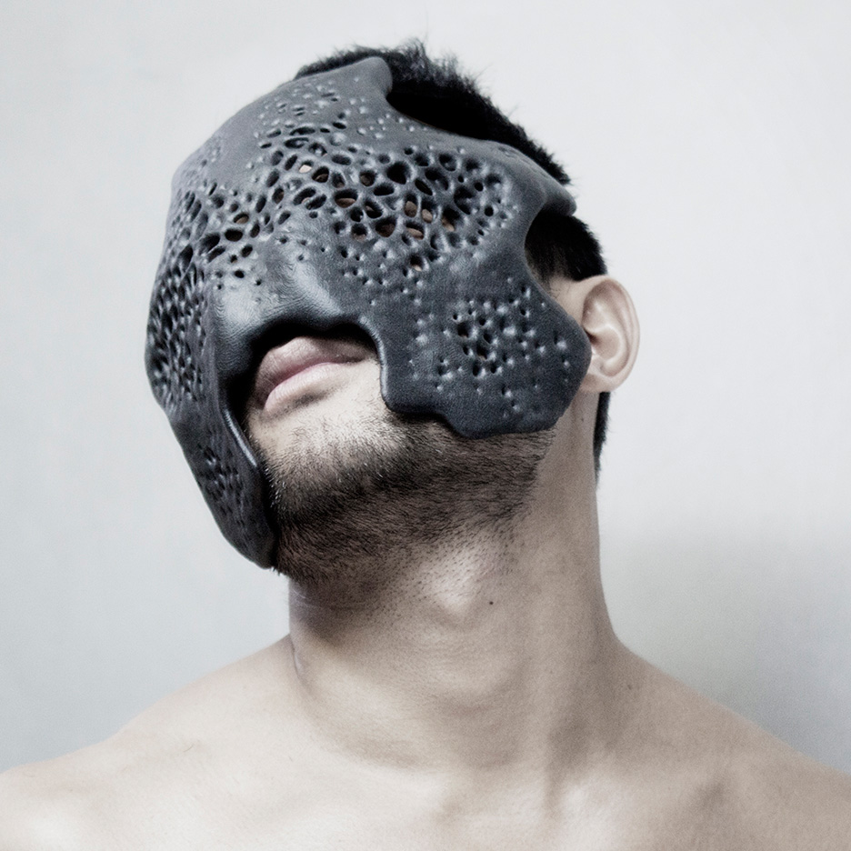 Carapace mask by MHOX