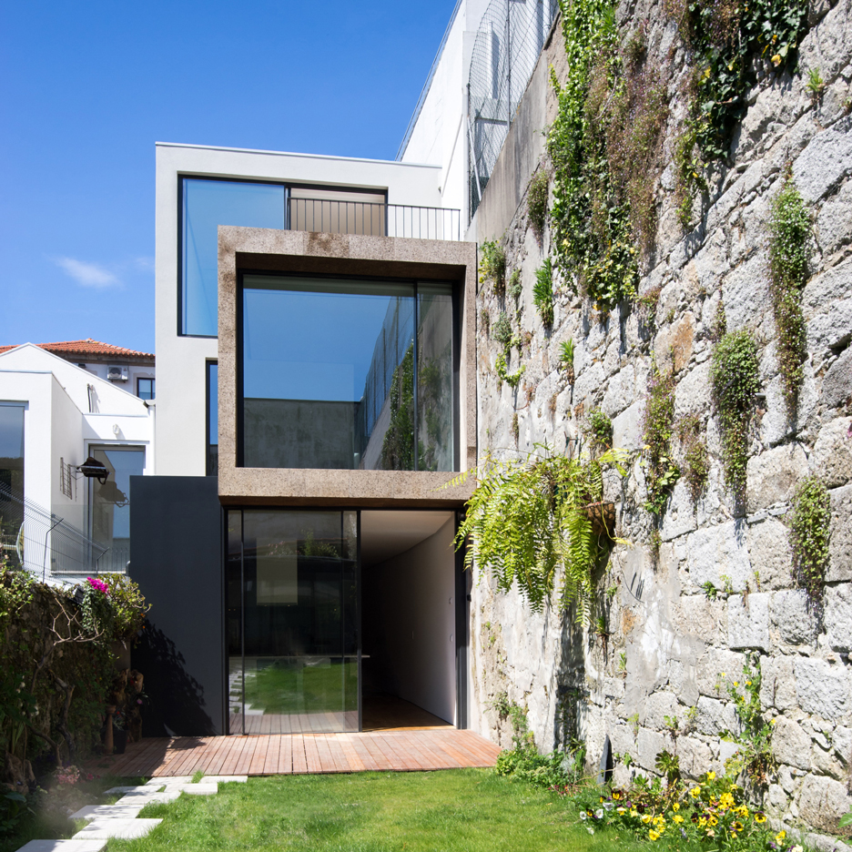 ATKA Arquitectos uses cork cladding to minimise noise inside Casa Bonjardim