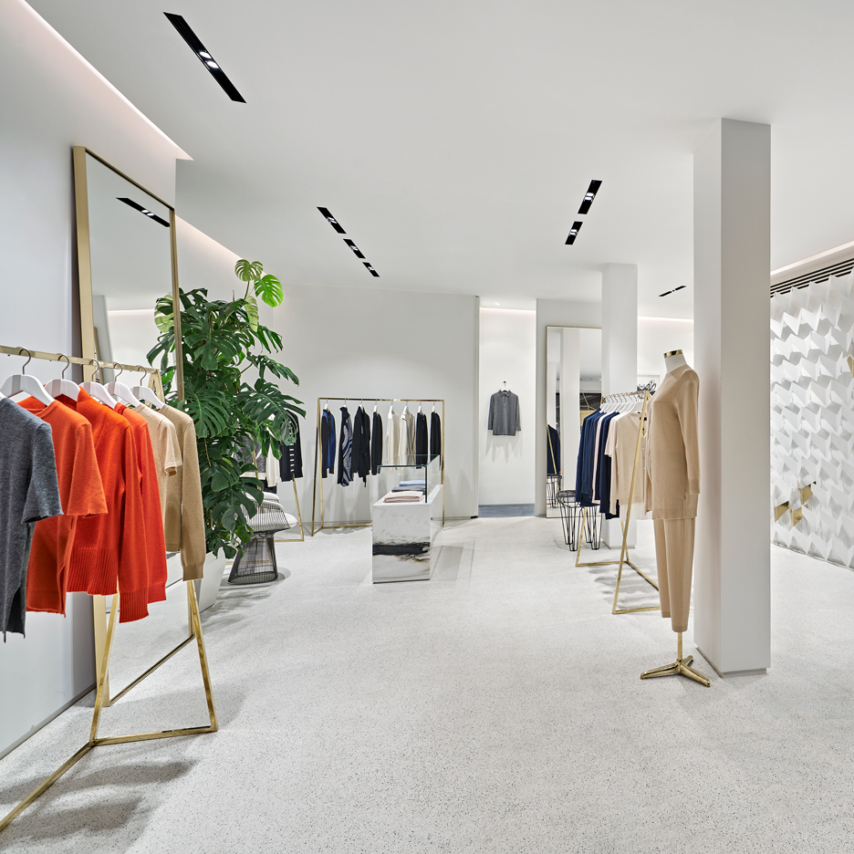 URAStudio creates minimal boutique in Istanbul for Cashmere in Love