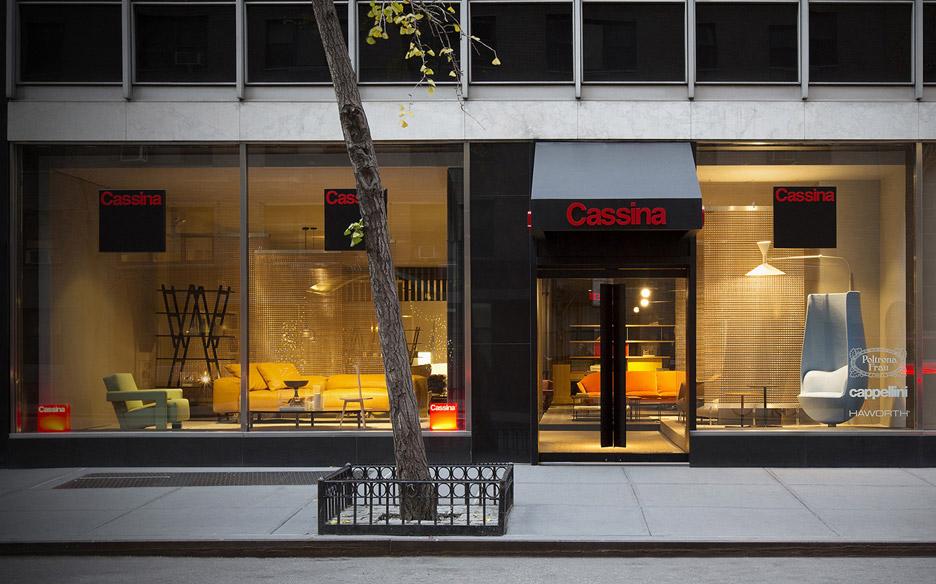 Patricia Urquiola overhauls Cassina's New York showroom