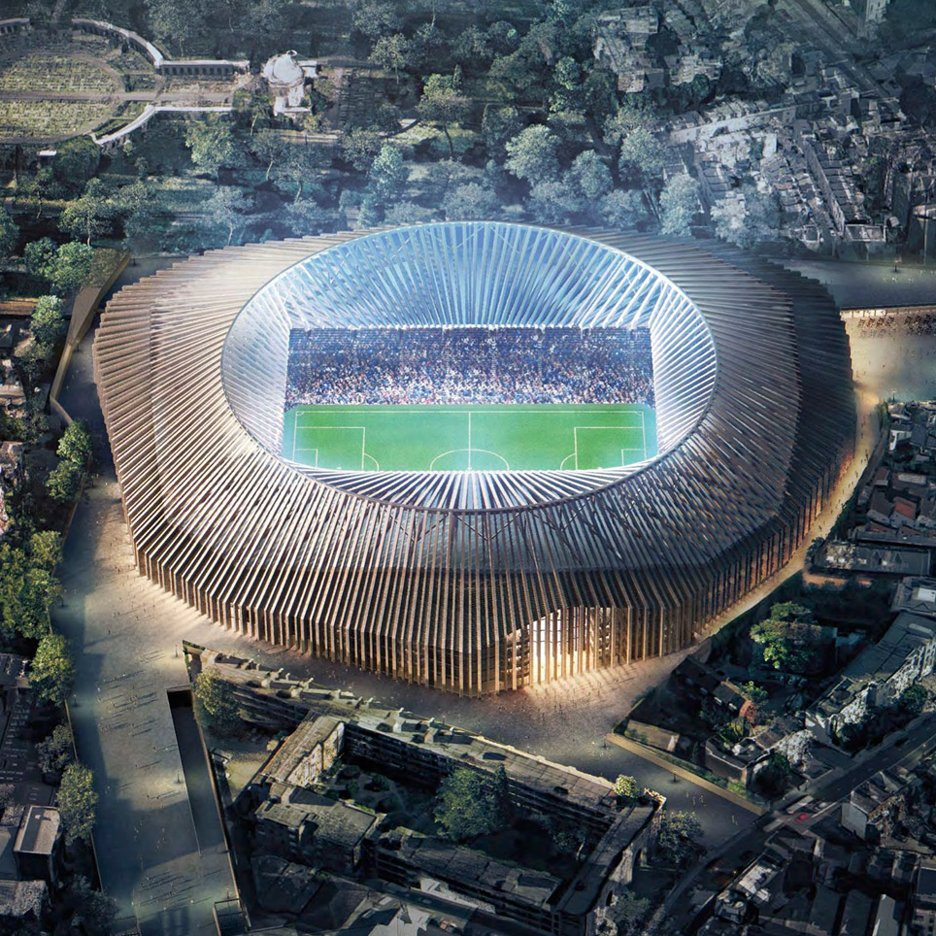 Herzog & de Meuron reveals latest plans for Chelsea football stadium redesign