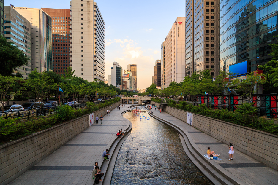 Cheonggyecheon, Seoul