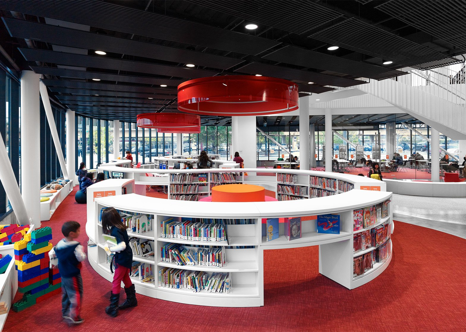 Chicago Chinatown Library by SOM